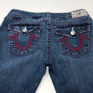 True Religion Women's Boot Cut Jeans Size 30